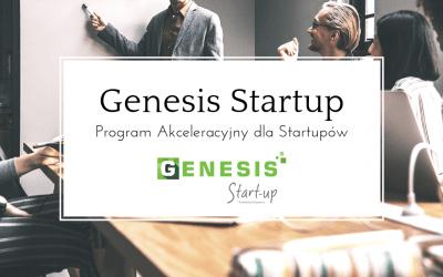 STARTUJE PROGRAM GENESIS STARTUP