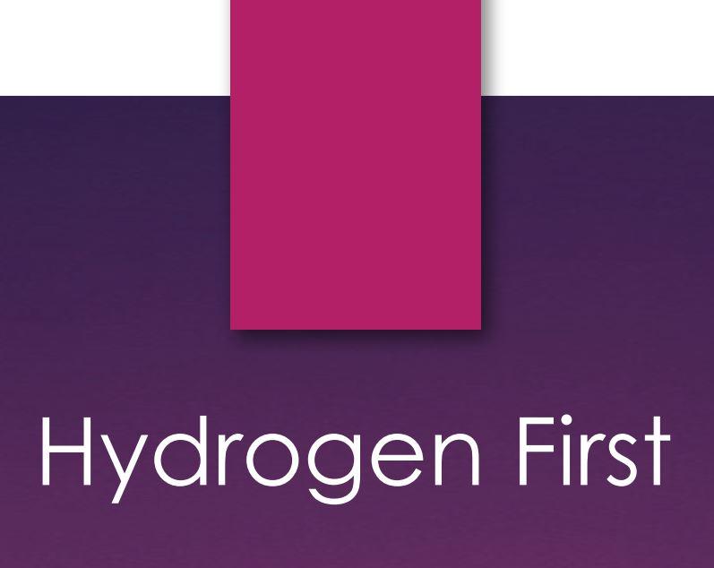 Hydrogen First